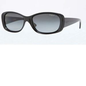 Vogue casual chic black sunglasses